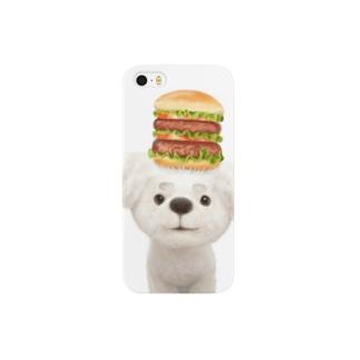 ビションフリーゼのTabePapaちゃん Smartphone cases