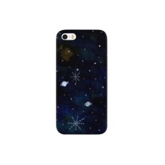 水彩宇宙 Smartphone cases