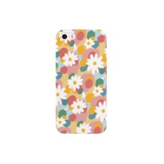pastel daisy Smartphone cases