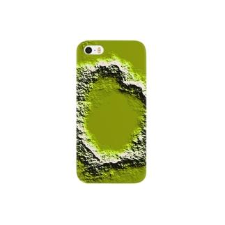 ハート型クレーターのつもり Smartphone cases