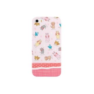 もゆうさフレンズ(pink) Smartphone cases