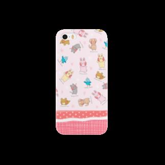moyuusakoのもゆうさフレンズ(pink) Smartphone cases