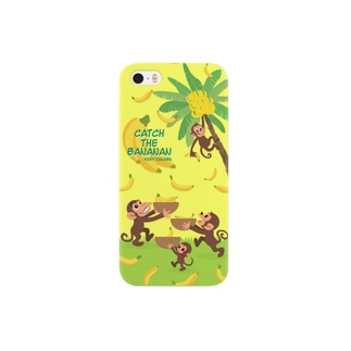 バナナンキャッチゲーム Smartphone cases