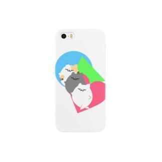 にゃんげんしょく Smartphone cases