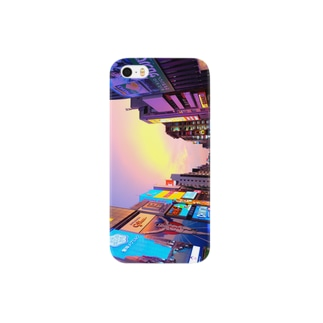道頓堀sunset Smartphone cases
