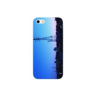 鉄塔sunrise Smartphone cases