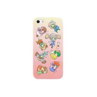 お菓子ガールズ Smartphone cases
