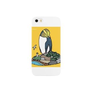 キガシラペンギン スマートフォンケース