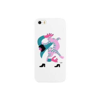 meeg -さかもと めーぐ-のKARAMU_C Smartphone cases
