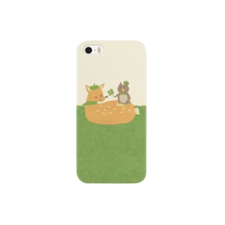 iPhoneケース(iPhone5 / 5s用)◆ ema-emama『happiness-clover』 スマートフォンケース