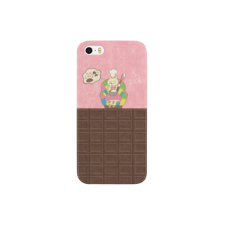 やたにまみこのiPhone5 / 5s用ケース◆ ema-emama『sweet-cat』 スマートフォンケース