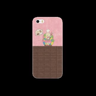 やたにまみこのiPhone5 / 5s用ケース◆ ema-emama『sweet-cat』 Smartphone cases