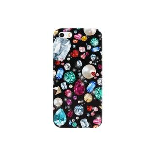 ジュエリー iPhone5 5c ケース ビジュー Smartphone cases