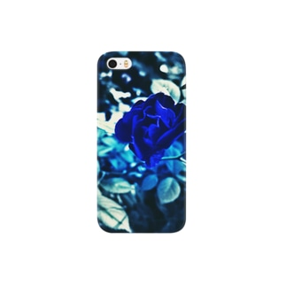 Blue Rose 幸運の青い薔薇 Smartphone cases
