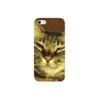 幸せを運ぶトラ猫 Smartphone cases