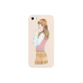 スクールガール Smartphone cases