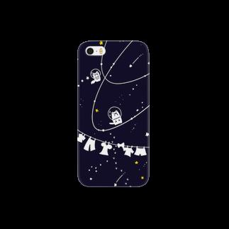 HIKI DE 物 SHOPの宇宙わんこスマートフォンケース