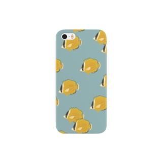 チョウチョウウオ小 Smartphone cases