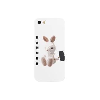 HAMMER/白ウサギ/iPhoneケース Smartphone cases