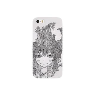 角要塞ちゃん Smartphone cases