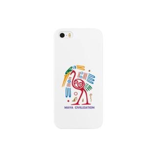 マヤアート-鳥っぽい Smartphone cases