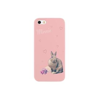 うさぎのミニー♡ Smartphone cases