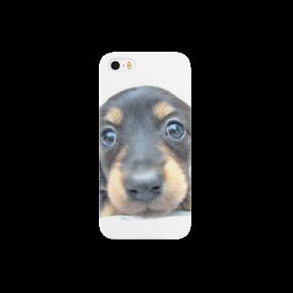 neko-punyuの子犬シリーズ09 スマートフォンケース