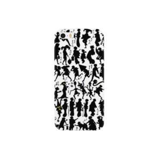 妖怪影絵<浮世絵> Smartphone cases