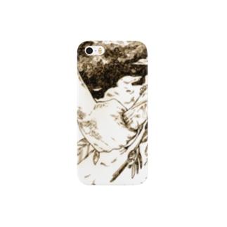 鳥類変貌症 スマートフォンケース