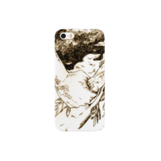 P4Uの鳥類変貌症スマートフォンケース
