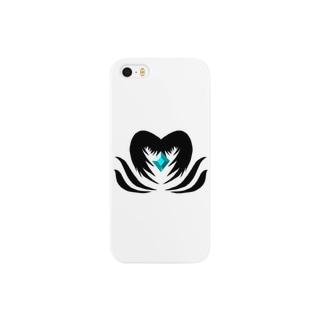 Isariショップのクリスタルを守る堕天使 Smartphone cases