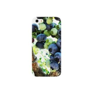 ブルーベリー Smartphone cases