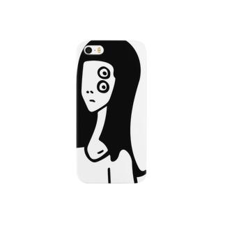 おすまし顔 Smartphone cases