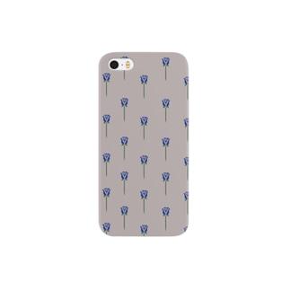 5分で書いたバラ Smartphone cases