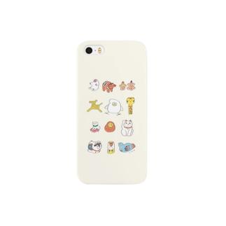 郷土玩具 たまごいろ Smartphone cases