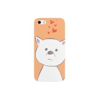 上司のわんこ Smartphone cases