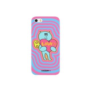 ネジネコLOVEiPhone5/5sスマホケース Smartphone cases