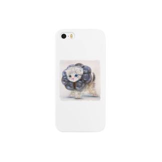萌獣 猫 ポンデニャイオン:ショコラ Smartphone cases