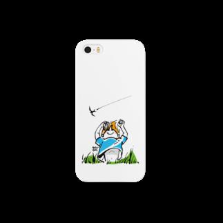 ウチダヒロコ online storeの夏の子 Smartphone cases