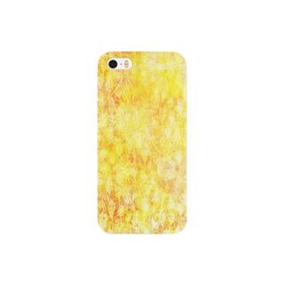 金びょうぶ風 Smartphone cases