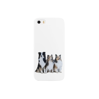 実家のシェルティ達 Smartphone cases