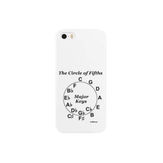 【音楽理論】サークル・オブ・フィフス - Ver.02 Smartphone cases