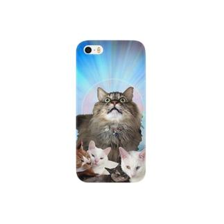 宇宙猫改弐 Smartphone cases