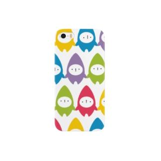 コビトツナガリ Smartphone cases