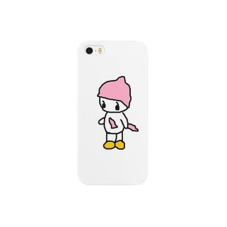 帽子小僧のコンドウくん Smartphone cases
