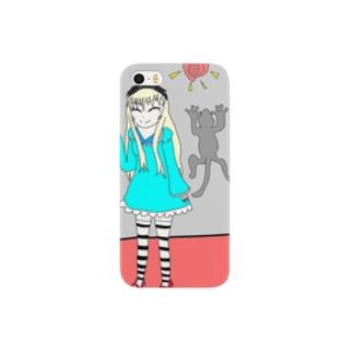アリスの壁アート Smartphone cases