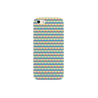 colorful check Smartphone cases