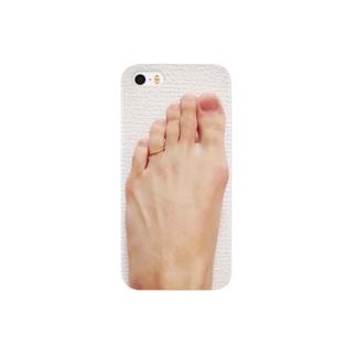 既婚の左足 Smartphone cases