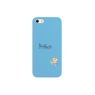 RITちゃん青 Smartphone cases