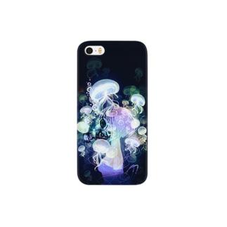 ガスマスクラゲ Smartphone cases